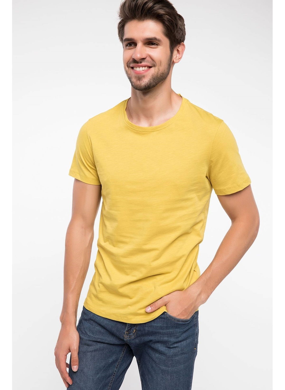Defacto Slim Fit T-shirt J6671az18hsyl276t-shirt – 29.99 TL